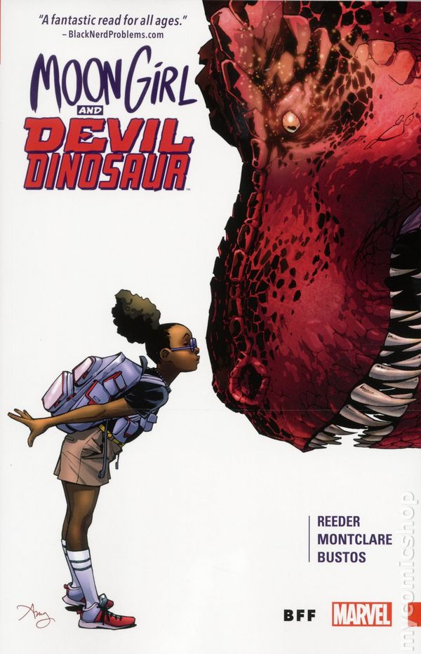 Moon Girl and the Devil Dinosaur: BFF