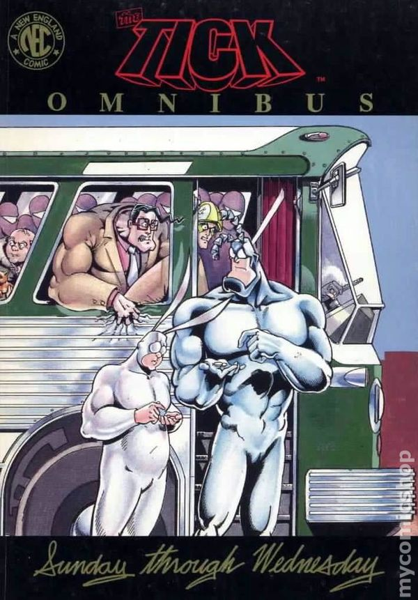 The Tick Omnibus, Vol. 1: Sunday through Wednesday