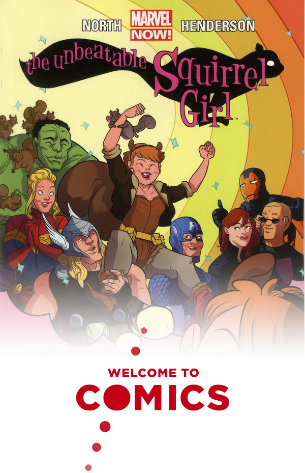 Unbeatable Squirrel Girl: Squirrel Power