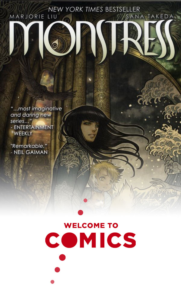 Monstress: The Blood